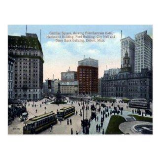Old Postcard - Detroit, Michigan