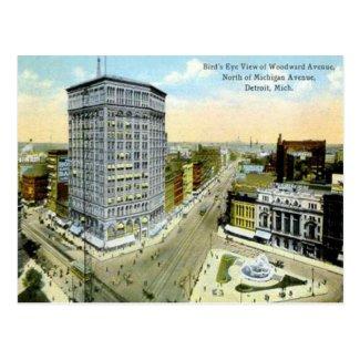 Old Postcard - Detroit, Michigan, USA