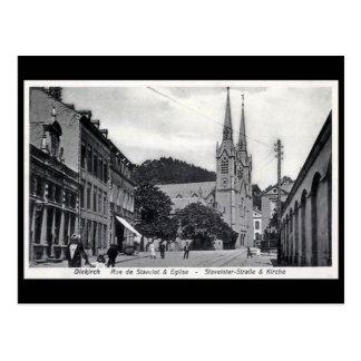 Old Postcard - Diekirch, Luxembourg