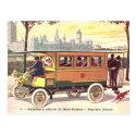 Old Postcard - Dion-Bouton Omnibus, Paris