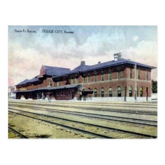 Old Postcard - Dodge City, Kansas, USA