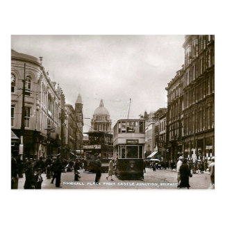 Old Postcard - Donegall Place, Belfast