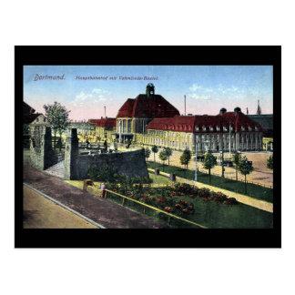 Old Postcard - Dortmund Railway Station