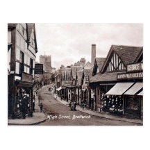 Old Postcard - Droitwich, Worcestershire