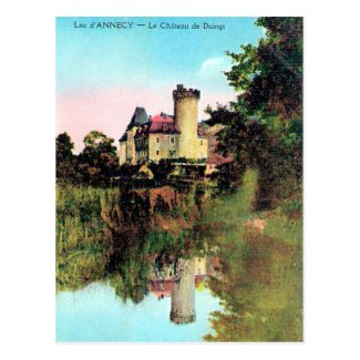 Old Postcard - Duingt, Lac d'Annecy