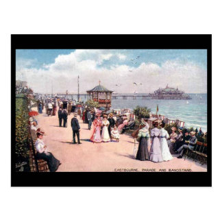 Old Postcard - Eastbourne, Sussex.