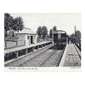 Old Postcard - Ebley Crossing, Stroud, Glos