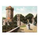 Old Postcard - Edge Hill, Warwickshire