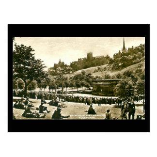 Old Postcard, Edinburgh, Princes St Gardens Postcard