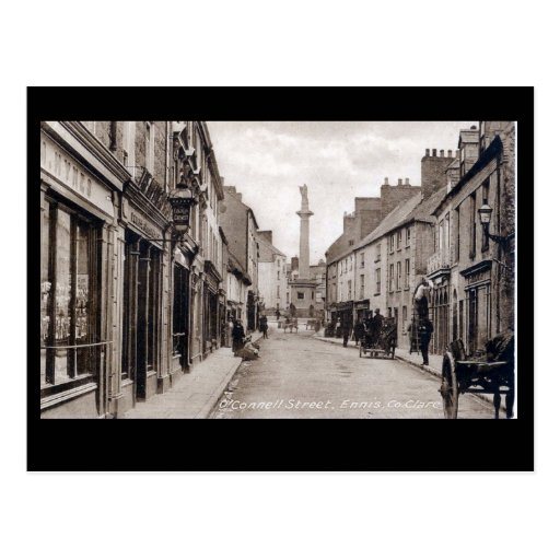 Old Postcard - Ennis, Co Clare