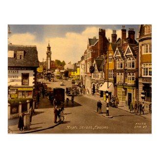 Old Postcard - Epsom, Surrey