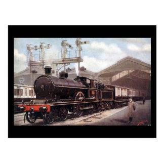 Old Postcard - Euston, Scotch Express