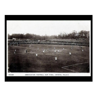 Old Postcard - FA Cup Final, Crystal Palace
