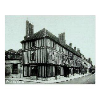 Old Postcard - Falcon Hotel - Stratford-upon-Avon