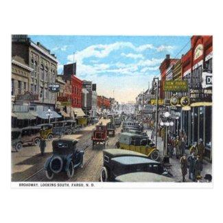 Old Postcard - Fargo, North Dakota, USA