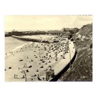 Old Postcard - Folkestone the Sands