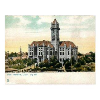 Old Postcard - Fort Worth, Texas