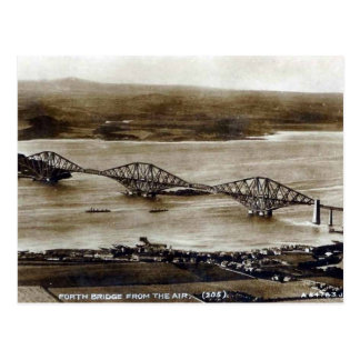 Old Postcard - Forth Railway Bridge