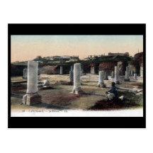 Old Postcard - Forum, Carthage, Tunisia