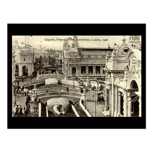 D Exhibition London : Old postcard franco british exhibition london zazzle