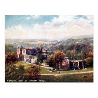 Old Postcard - Furness Abbey, Cumbria
