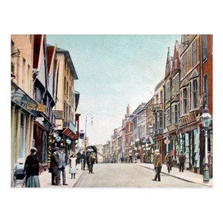 Old Postcard - Gaolgate Street, Stafford