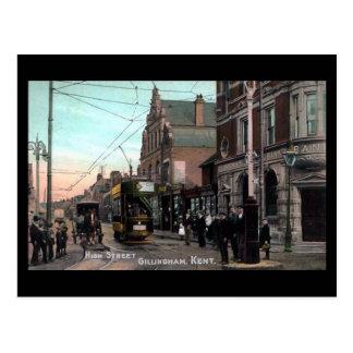 Old Postcard - Gillingham, Kent