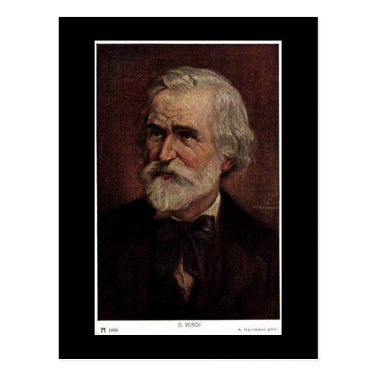 Old Postcard - Giuseppe Verdi 1813-1901
