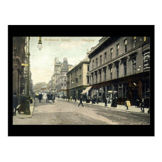 Old Postcard, Glasgow, Buchanan Street Postcard