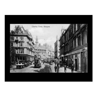 Old Postcard, Glasgow, Charing Cross Postcard