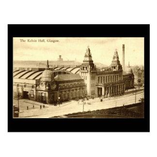 Old Postcard, Glasgow, Kelvin Hall Postcard