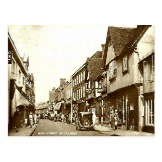 Old Postcard - Godalming, Surrey