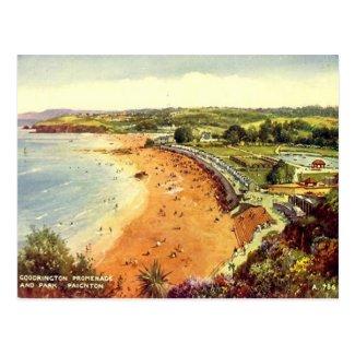 Old Postcard - Goodrington, Paignton, Devon