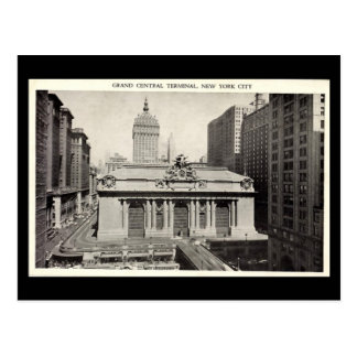 Old Postcard - Grand Central Terminal, New York Ci