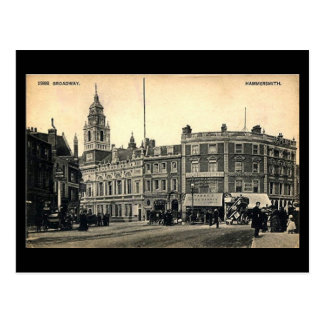 Old Postcard - Hammersmith Broadway, London