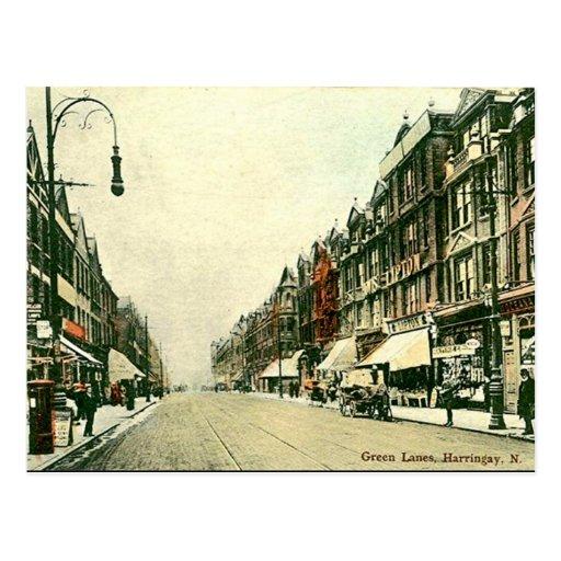 Old Postcard - Harringay, London