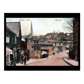 Old Postcard - Harrow, London