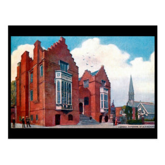 Old Postcard - Harrow, the Old School.