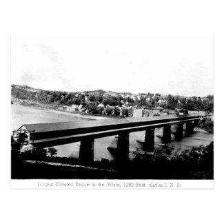 Old Postcard - Hartland, New Brunswick