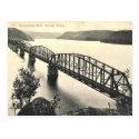 Old Postcard - Hawkesbury River, NSW