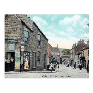 Old Postcard - Hayfield, Derbyshire