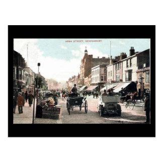 Old Postcard - High St, Newmarket, Suffolk