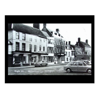 Old Postcard, High St, Shipston-on-Stour, Warwicks Postcard