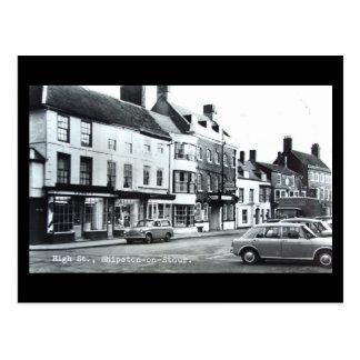 Old Postcard, High St, Shipston-on-Stour, Warwicks Postcard