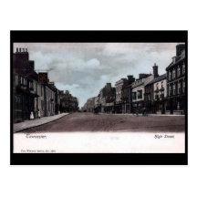 Old Postcard - High St, Towcester, Northants