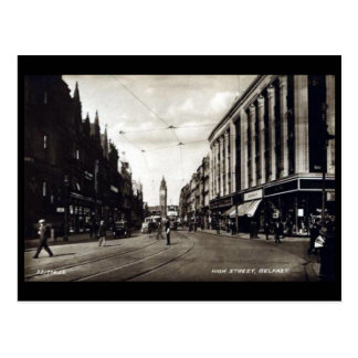 Old Postcard - High Street, Belfast