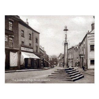 Old Postcard - High Street, Cheadle