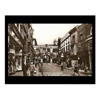 Old Postcard - High Street, Lincoln