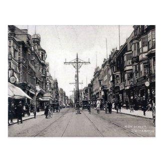 Old Postcard - High Street, Southampton