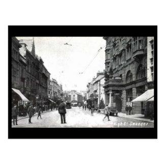 Old Postcard - High Street, Swansea